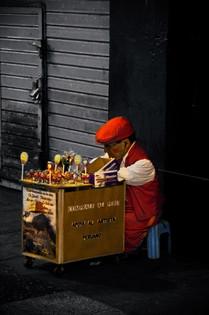 Peruvian Street Salesman
