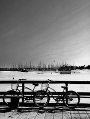 Bike at the pier