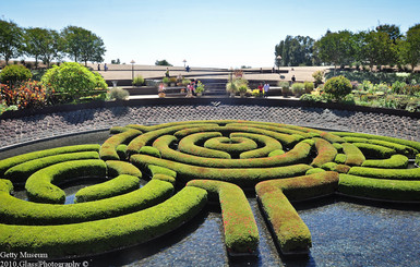 Garden of the Getty Museum