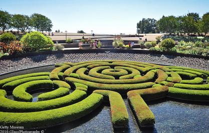 Garden of the Getty Museum