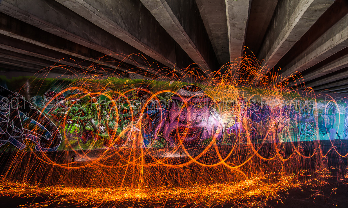 Fire under the tunnel