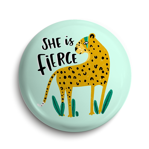 Fierce Pin Badge (x6) BDG9
