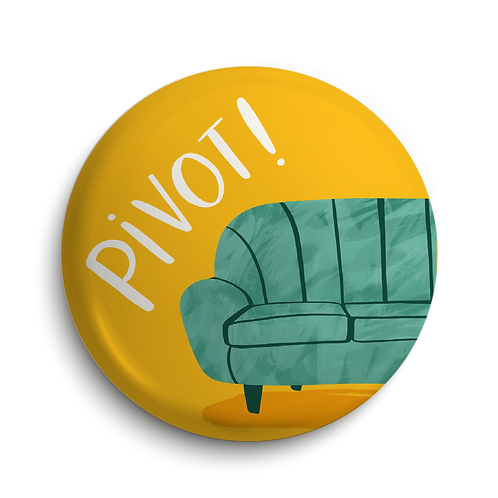 Pivot Pin Badge (x6) BDG29