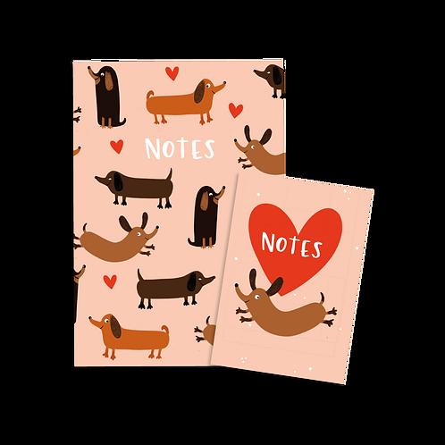 Dog Notebook Set (x6) BB1