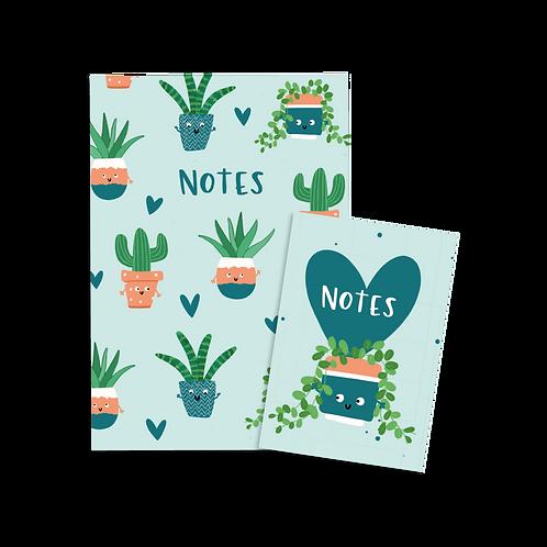 Plants Notebook Set (x6) BB3