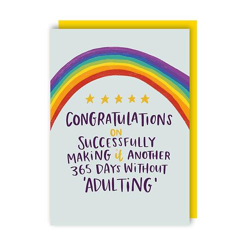 Adulting (x6) 12018
