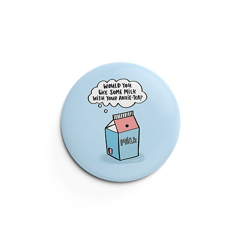 Anxietea Pin Badge (x6) BDG3