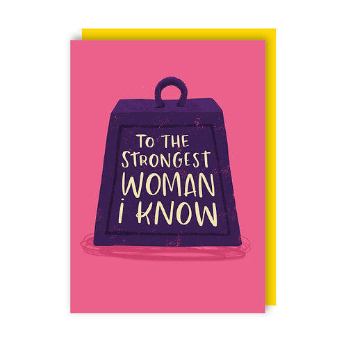 Strongest Woman (x6) 1812018