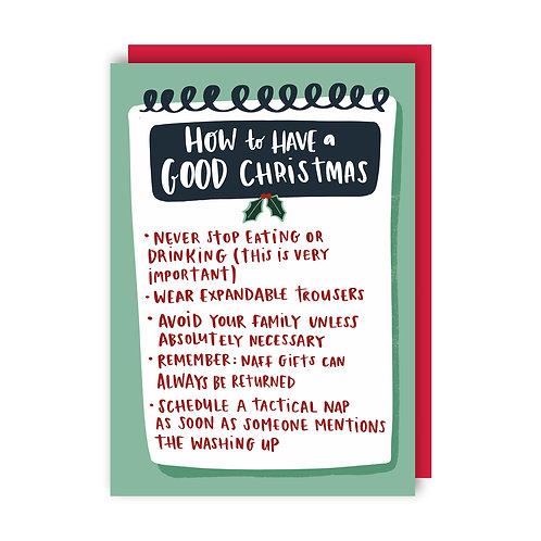 Good Christmas (x6) 5020