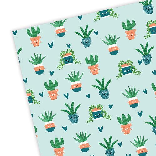 Plants Gift Wrap