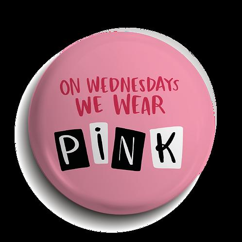 Wednesdays Pin Badge (x6) BDG18