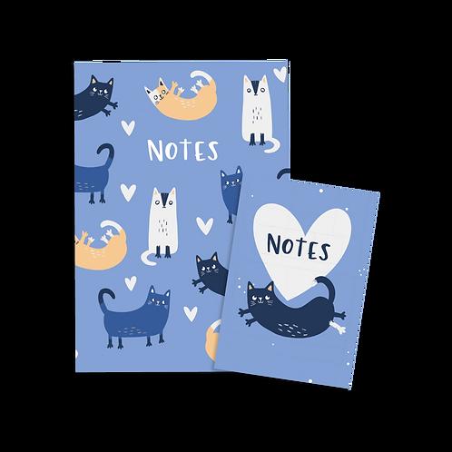 Cat Notebook Set (x6) BB2