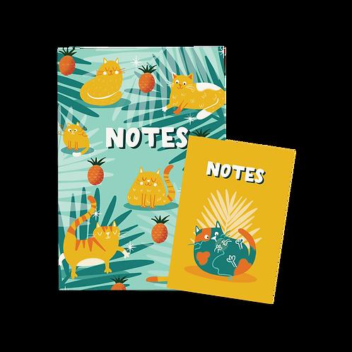 Hawaii Cats Notebook Set (x6) BB10