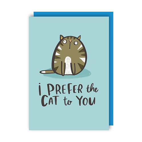 Prefer the Cat (x6) 112018