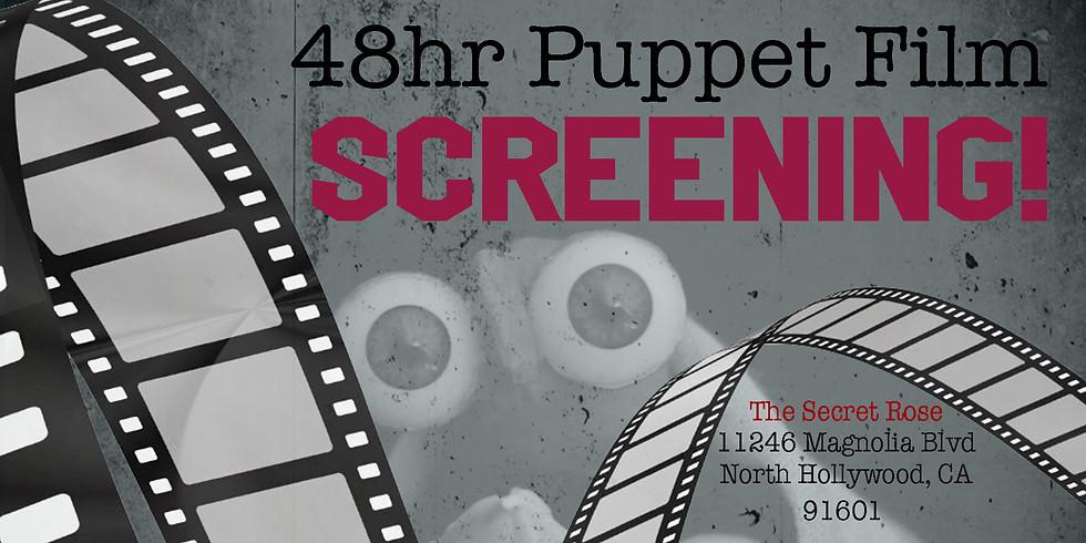48hr Puppet Film SCREENING!