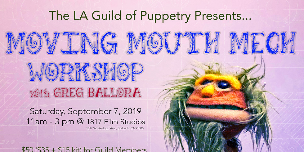 Moving Mouth Mech Workshop with Greg Ballora