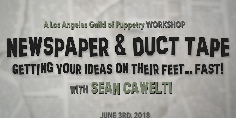 Newspaper & Duct Tape Workshop