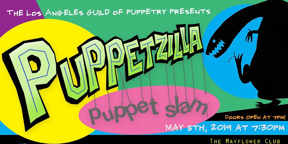 Puppetzilla Puppet Slam - May 5