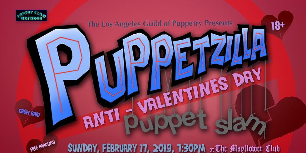The Anti-Valentines Day Puppetzilla Puppet Slam!