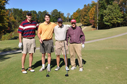 Lou's and E golfing