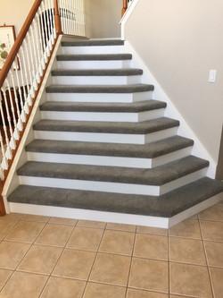 Stair Treads Carpet Install