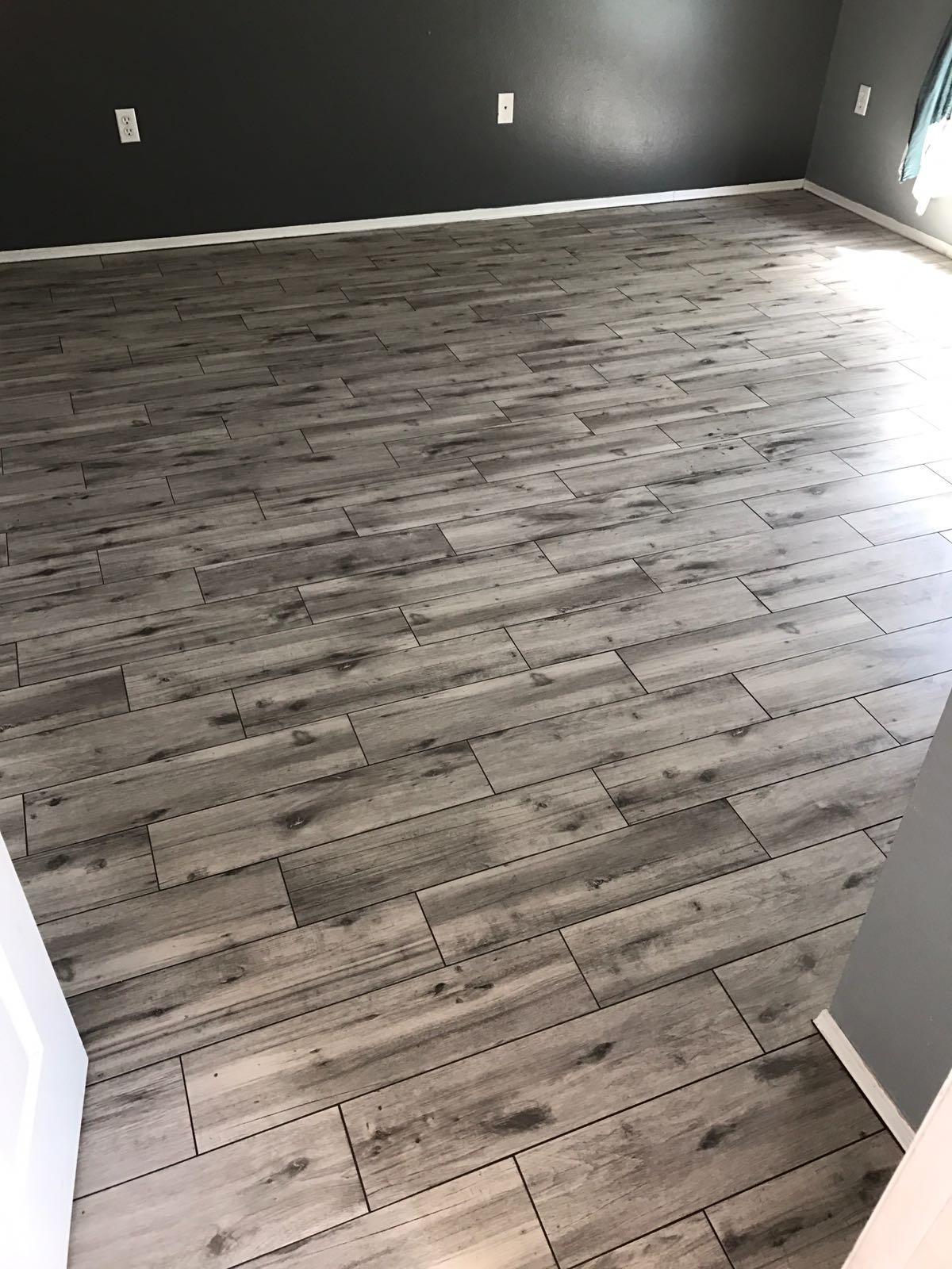 Wood-Look Plank Tile