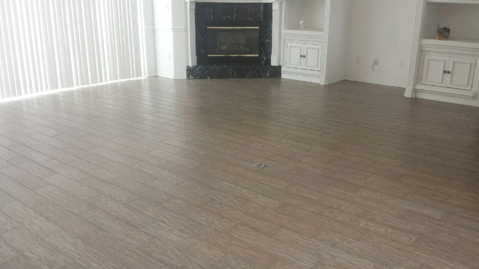 Wood-Look Tile Planks
