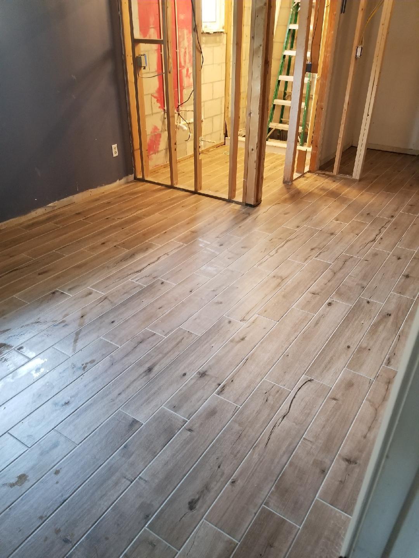 Wood-look Tile