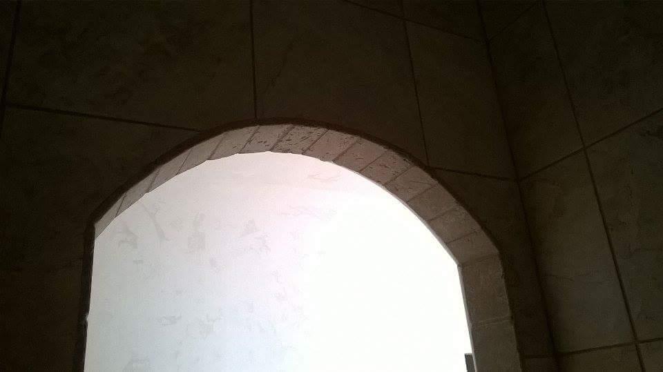 Shower Stone Archway