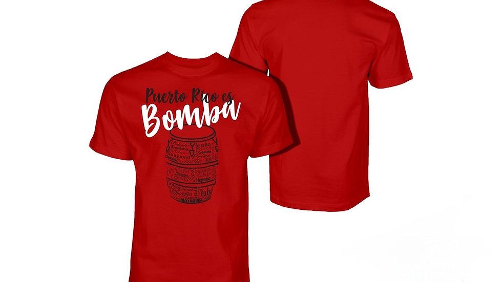 Puerto Rico es Bomba T-shirts