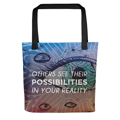 Colorful Possibilities Tote Bag