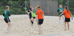 Beachhåndbold.