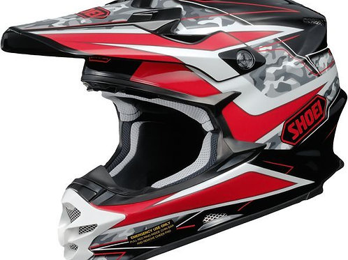 Shoei VFX-W MX Helmet Turmoil TC1