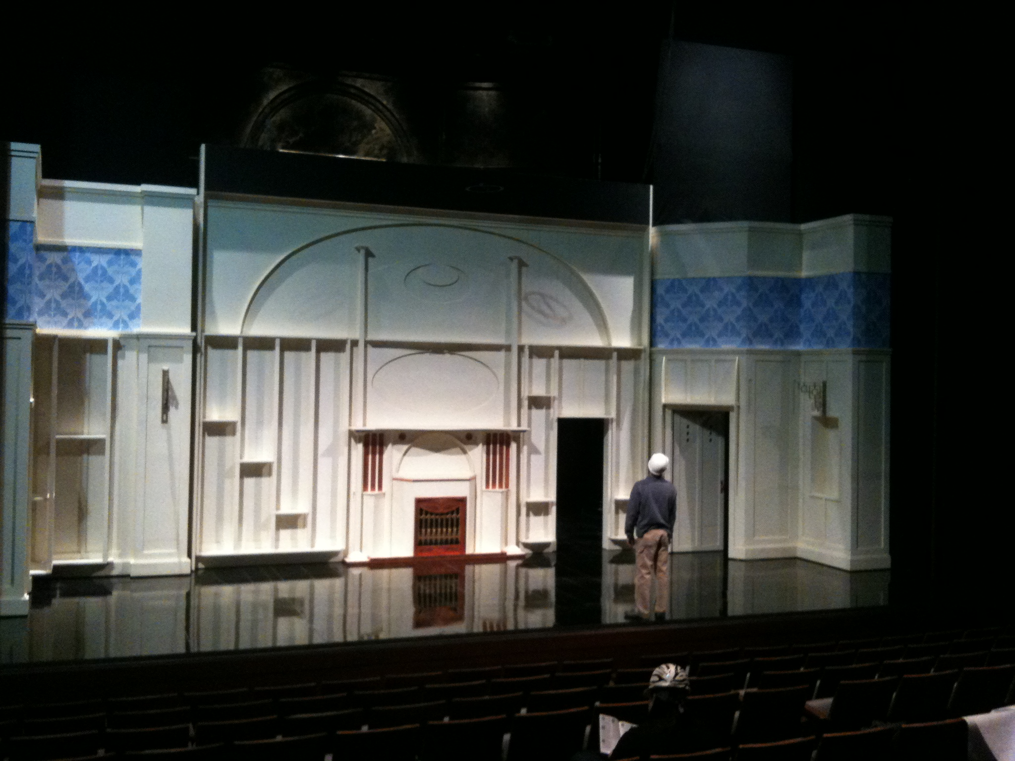 Shakespeare Theatre set
