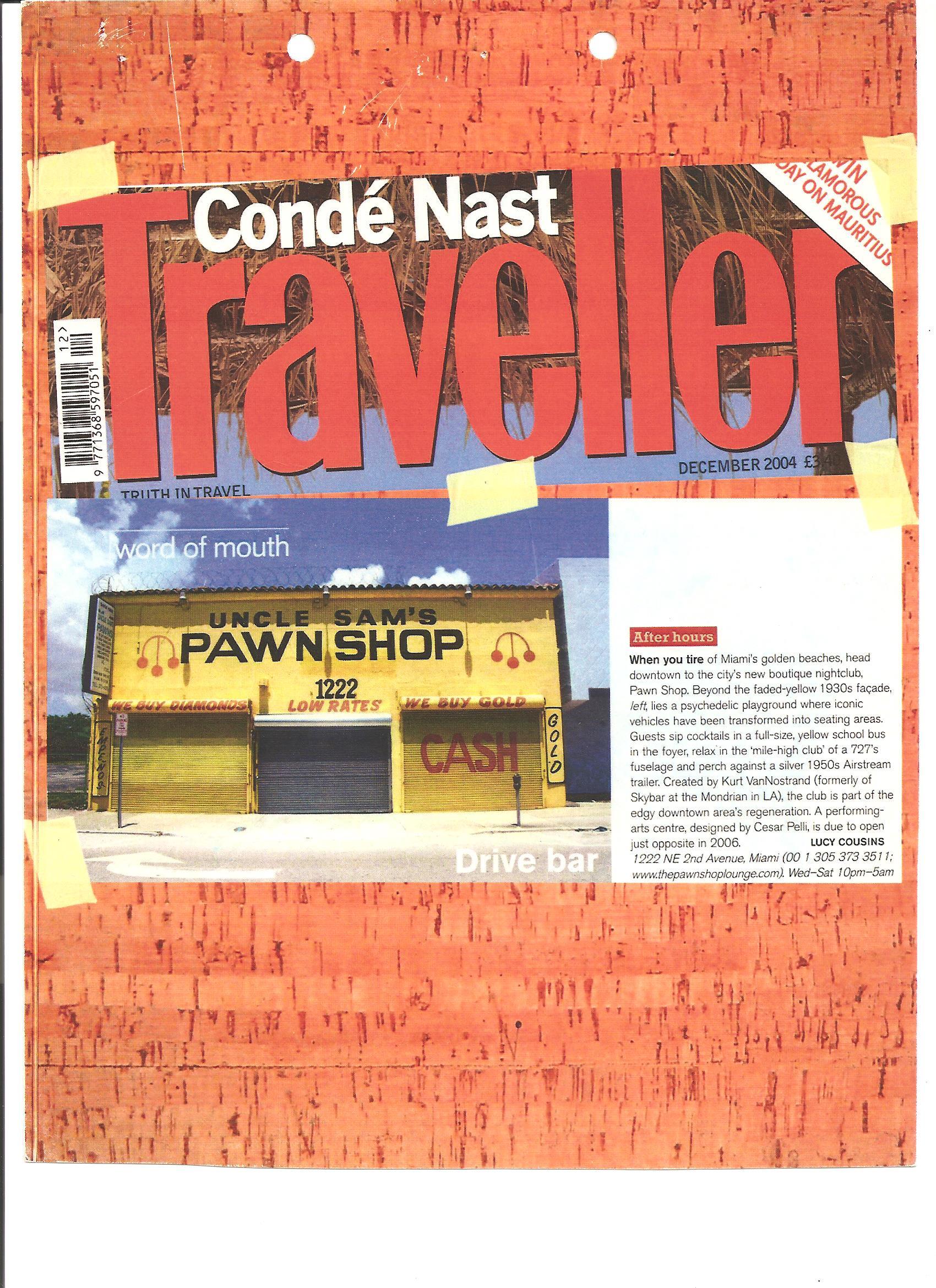 Conde Nast Article