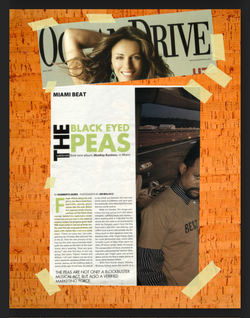 Black Eyed Peas Shoot