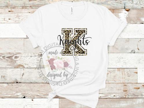 Cheetah Print Team Shirts