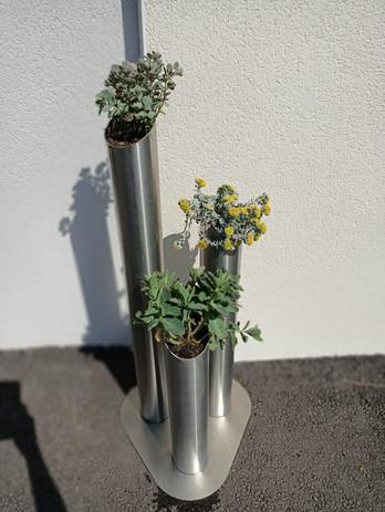 Lorêve Inox_Pot de fleur
