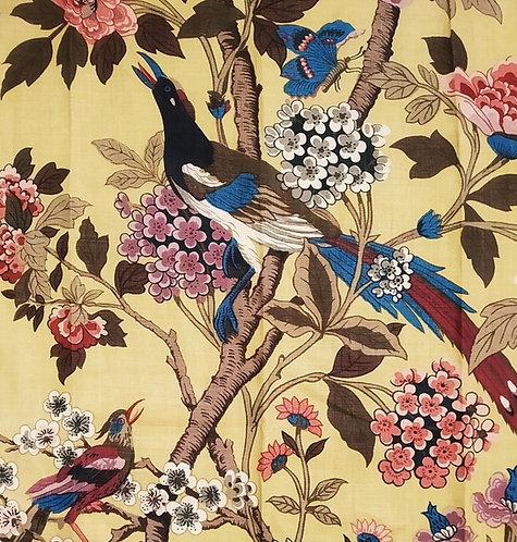 HYDRANGEA BIRD PARCHMENT