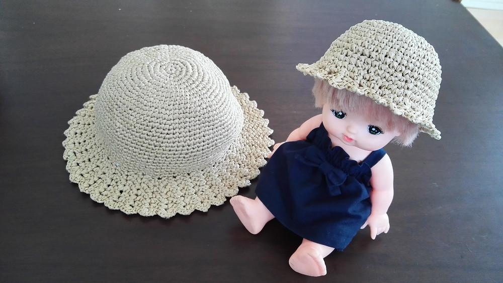 メルちゃんとお揃いの帽子