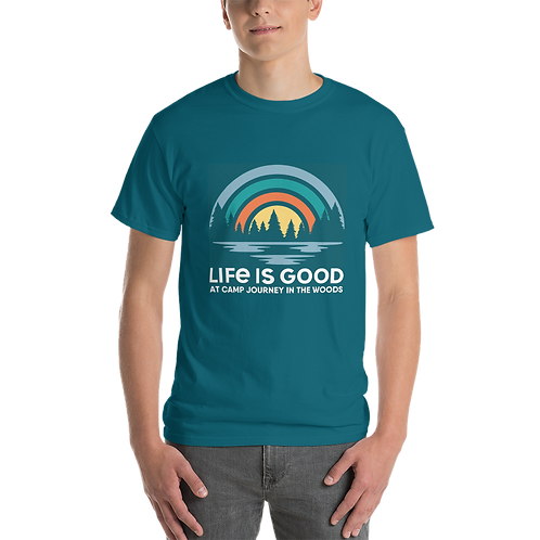 """""""Life is Good"""" Camp Journey T-Shirt"""