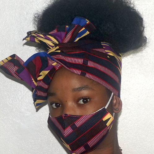 Kente Purple mix