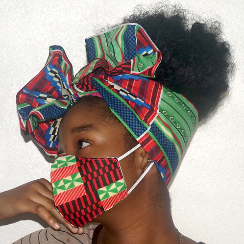 Kente Green Mix