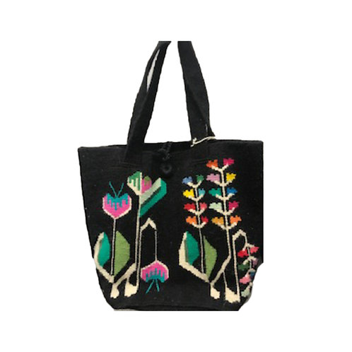 Bosnia Hand-Woven Floral Tote
