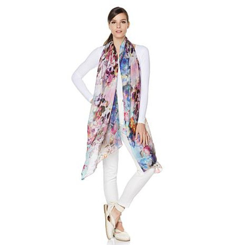 Spring in Provence Silk Scarf