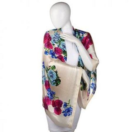 Floral Garden Silk Arm Wrap