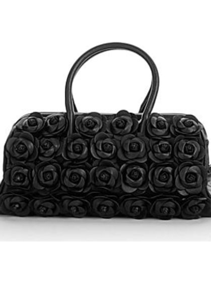 Handcrafted Leather Rose Doctor's Satchel