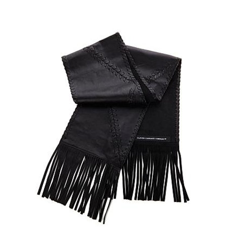 Majestic Leather Hand-Whipstitched Scarf