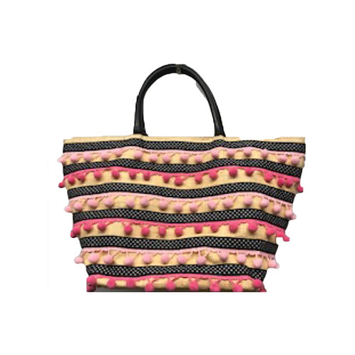 Knitted Ball Tote