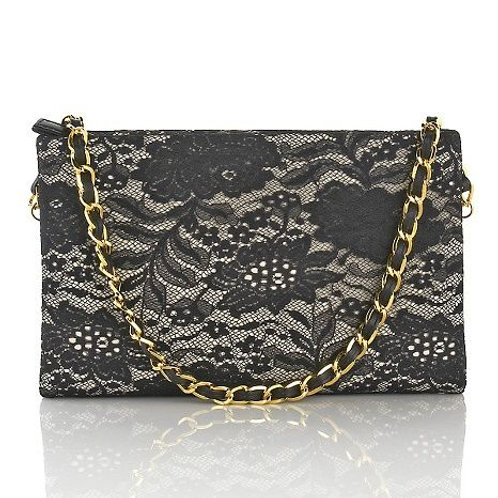 Paris Lace Clutch